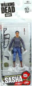 "Sasha 5"" /12cm Actionfigur The Walking Dead Mcfarlane Toys Series X Amc Tv Serie Film-fanartikel"
