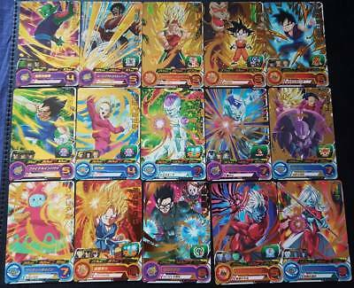 Carte Dragon Ball Z DBZ Super Battle Part 8 #Reg Set BANDAI 1993 MADE IN JAPAN