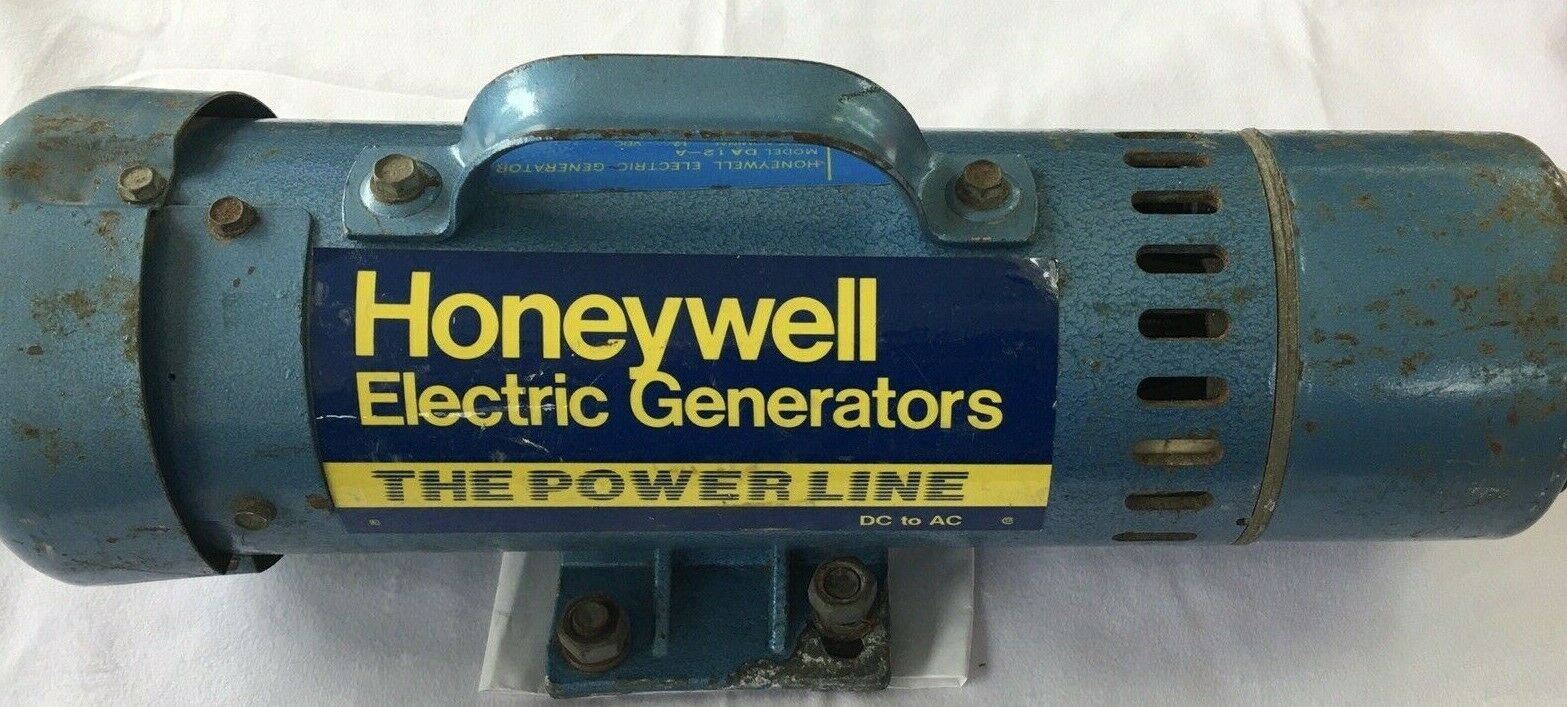 Honeywell Electric Generator The Power Line Dc To Ac For Sale Online