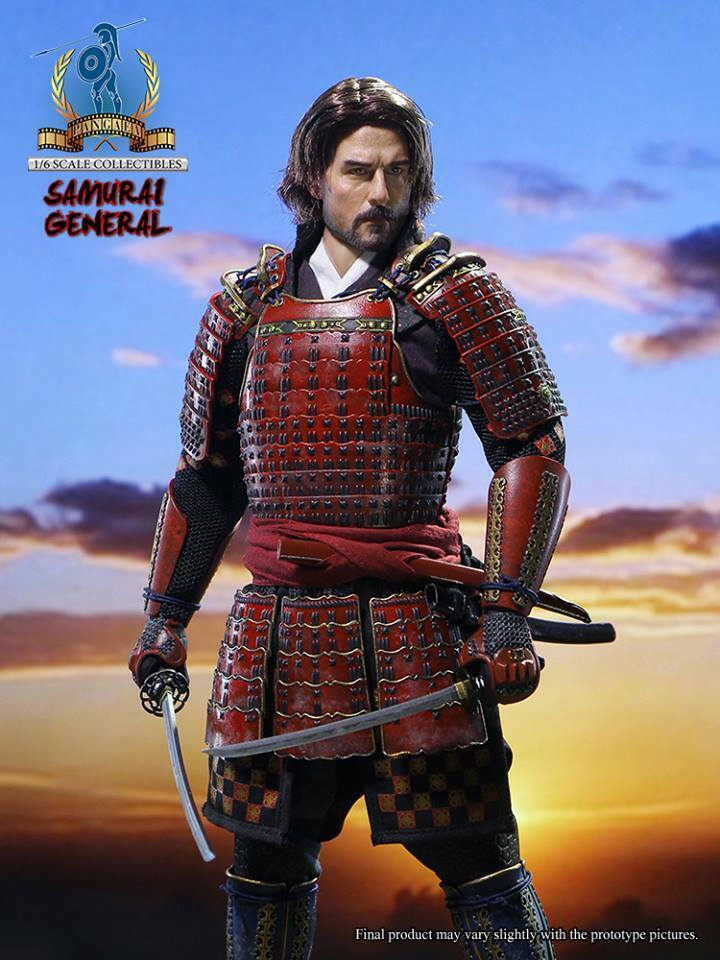 1 6 Pangaea Toy PG06 Samurai General The Last Samurai Nathan Algren Figure