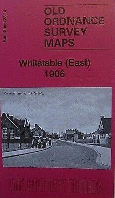 Old Ordnance Survey Maps Whitstable East Kent 1906  Godfrey Edition  Brand New