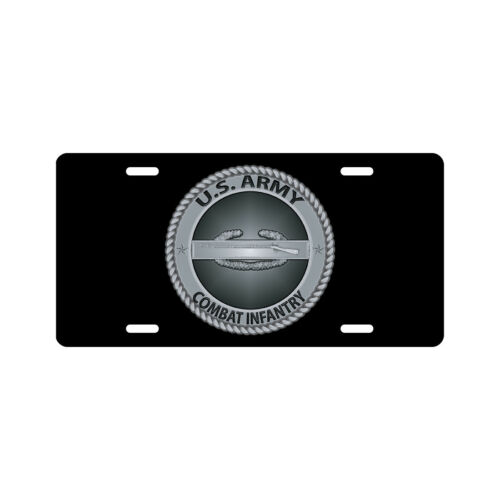 ARMY COMBAT INFANTRY License Plate Novelty Tag U.S