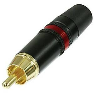 Rean-AV-NYS373-2-Connettore-RCA-Spina-dritta-Poli-2-Nero-Rosso-1-pz