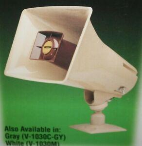 Gray VC-V-1030C-GY VALCOM V-1030C-GY 5 Watt 1 Way Paging Horn by Valcom
