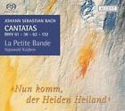 Kantaten BWV 36/61/62/132 von La Petite Bande,Sigiswald Kuijken (2009)