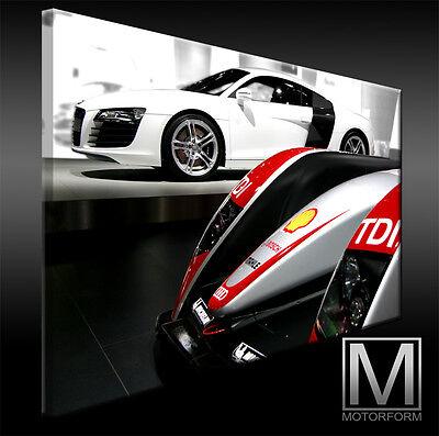 Lamborghini Gallardo echte LEINWAND Bild Canvas ART Kunstdruck Leinwandbild