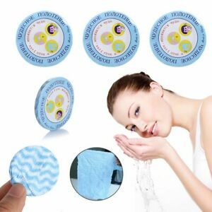 Beauty Travel Magic Mini Face Care Compressed Towel Expandable Non-woven Fabric