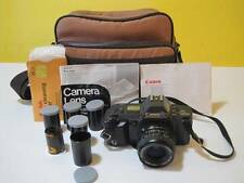 CANON T70 MULTIPLE PROGRAM AE DUAL METERING SYSTEM CAMERA 52MM 1:2.8F 28MM LENS