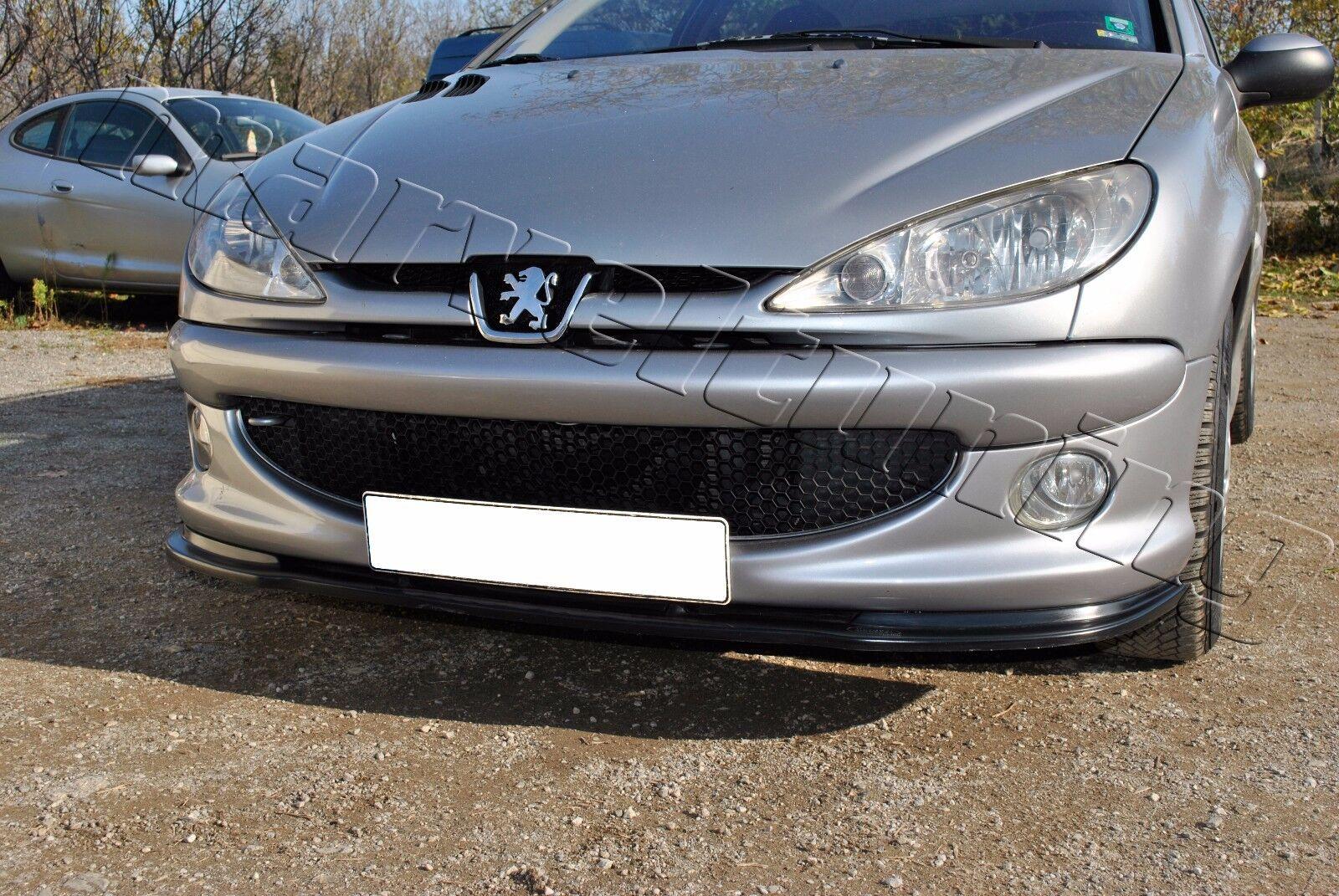 Front Bumper Spoiler Splitter Peugeot 206 Gti Gt Type Ebay