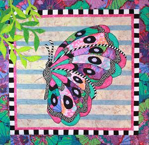 BEATRICE BUTTERFLY QUILT PATTERN, Fun Applique Wall Quilt From BJ ... : butterfly quilt pattern - Adamdwight.com