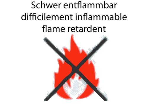 Samt 496g Schwer Entflammbar Verdunkelung Gardine Bühnen Deko Vorhang Dimout Sun