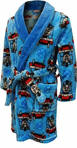 Thomas The Train and Friends Toddler Boys Fleece Bathrobe Robe