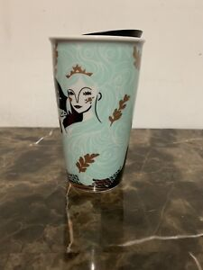 Details About Starbucks 2018 Holiday Limited Edition Mermaid Ceramic Tumbler Double Wall 12 Oz