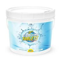 25 Lb. Chlorine Tablets 3, Pool Sanitizer Chemical — 99% Tri-chlor on sale