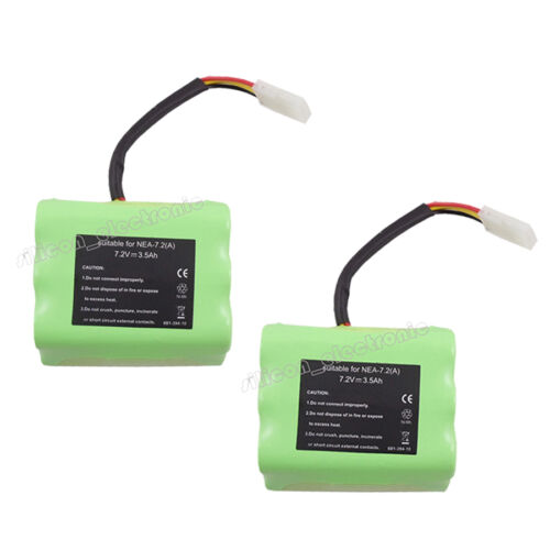 2 x 7.2V Battery For Neato XV-11 XV-12 XV-14 XV-15 XV-21 Signature Pro Robotics