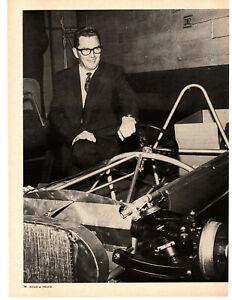 1964 KJELL QUALE / BRITISH MOTOR CARS / IMPORTER ~ ORIGINAL 3-PAGE ARTICLE / AD
