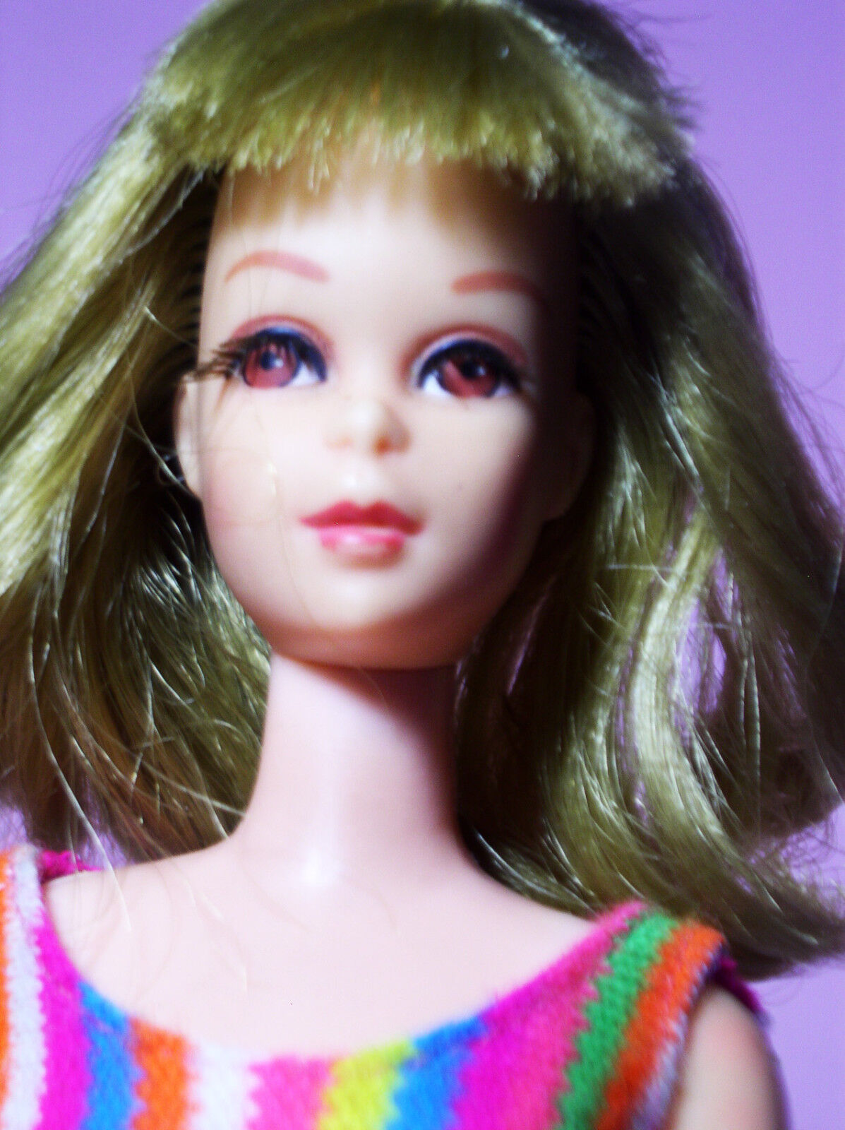 Vintage Gorgeous 1965 Francie T&T Model  1170 Blonde Rooted Lashes Original SS