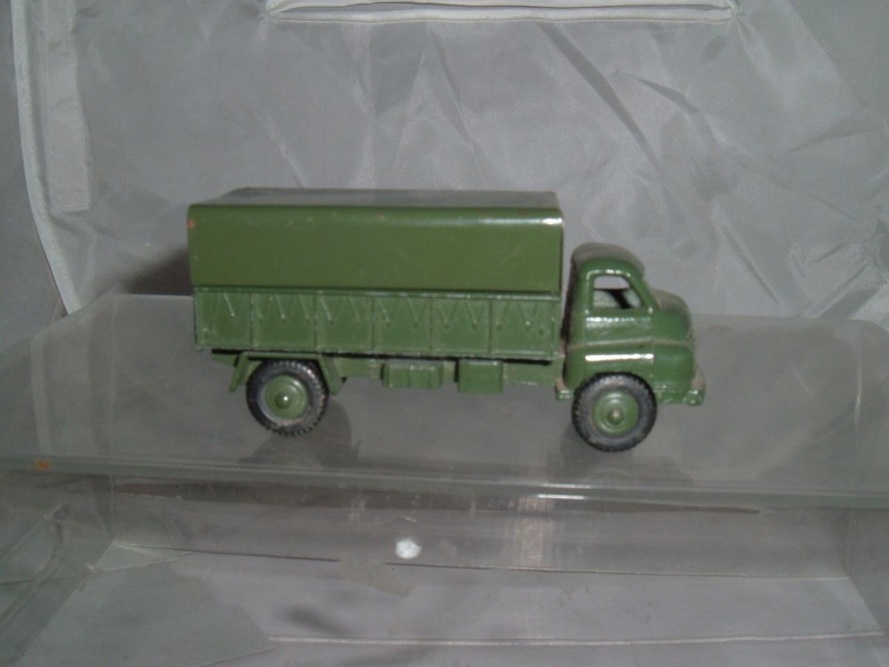 Budgie Morestone-El ejército de camiones Bedford-Diecast Escala 1 43 - Brill condición -