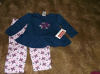 NEW W//T FISHER PRICE GIRLS 2 PC OUTFIT SZ 12M