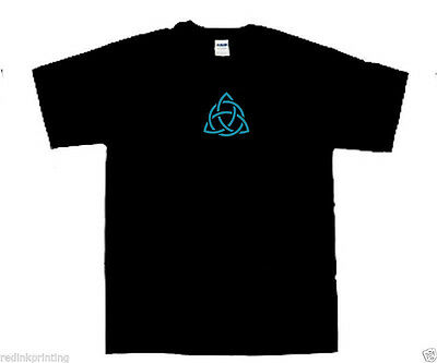 wiccan horned god//triquetra t shirt pagan shirt Small size to 2 Extra Large size