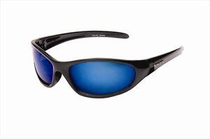 Mens Wrap Around Dark Sports Sunglasses Designer Black Shades  + Case UV400 New
