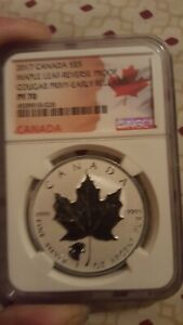 2017-5-CANADA-1OZ-SILVER-MAPLE-LEAF-NGC-PF70-HOWLING-COUGAR-PRIVY-REVERSE-PROOF