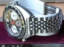 Beads of Rice 20mm vintage watch band modified for Heuer Autavia 1163 1163V case