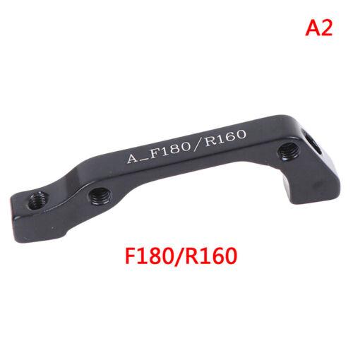 Bike Disc Brake Caliper Mount Adapter Front 160//180 Rear 140//  HVSJUK