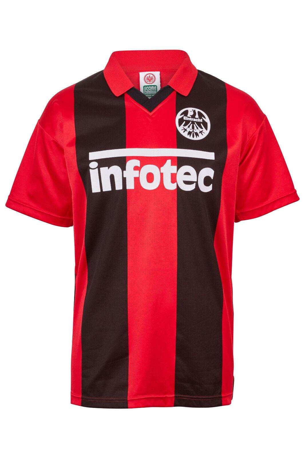 Eintracht Francoforte Maglia Retro Retro Retro 1981 Home 4c8