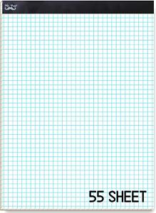 "4 Squares Per Inch Grid Paper Pen Graph Paper 55 Sheet Mr 4X4 11/""X8.5/"""