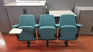 Lecture-Theatre-Chair-set-of-Three-selling-as-one-lot-Ideal-for-home-cinema