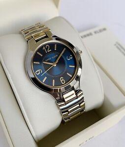 Anne Klein Watch * 1451NVTT Blue Dial 2 Tone Gold & Silver Steel for Women