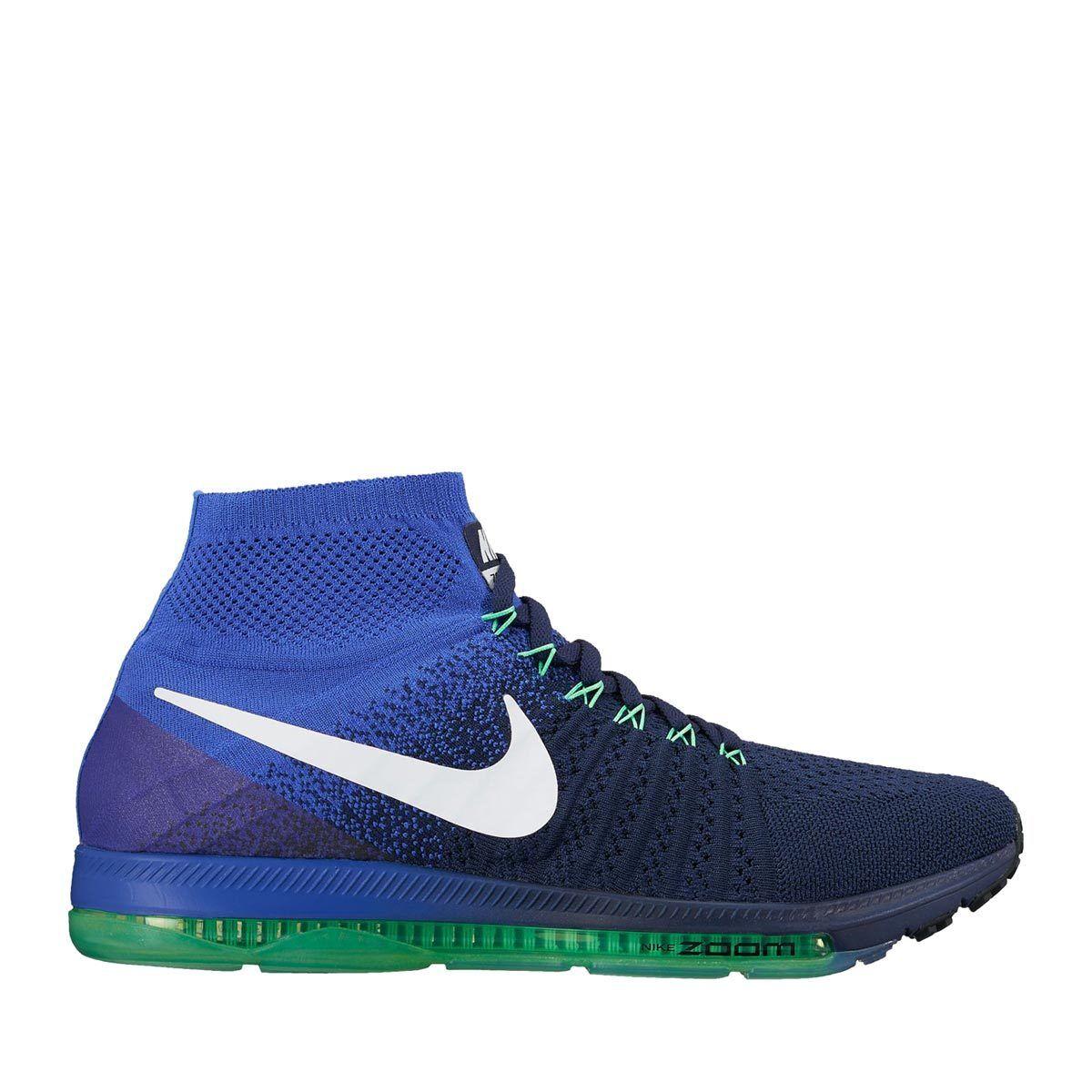 Nike ingrandire tutti fuori flyknit 844134-404 colage marina / / / white Uomo sz 13 714d39