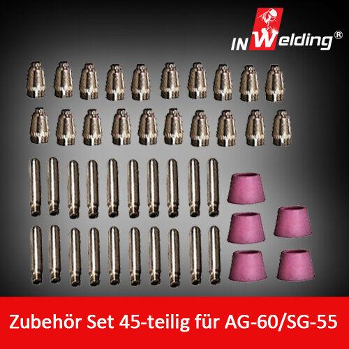 Ersatzteileset  für AG60 Plasmaschneider Plasmabrenner