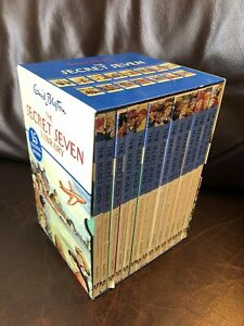 Edid-Blyton-The-Secret-Seven-Library-Set-Of-15-Books