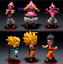 thumbnail 1 - 6pcs-Dragon-Ball-Z-Super-Saiyan-Goku-Goham-Buu-Boo-WCF-Figure-9-11cm