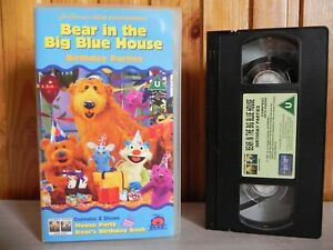 Bear-In-The-Big-Blue-House-Birthday-Parties-Kid-039-s-Education-Games-Pal-VHS