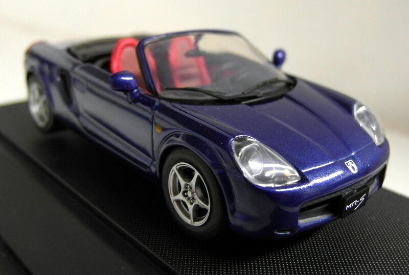 Ebbro 1 43 Scale 43100 Toyota MR-S Roadster bluee metallic diecast model car