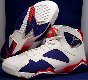 196ac1bb9cacb4 Nike Air Jordan 7 VII Retro Olympic Tinker Hatfield Alternate SZ 18 ...