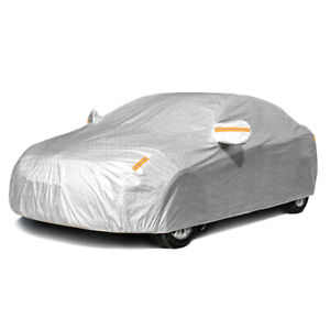 Waterproof Adjustable Large Car Covers Rain Sun Dust UV Proof Protection 3xxl