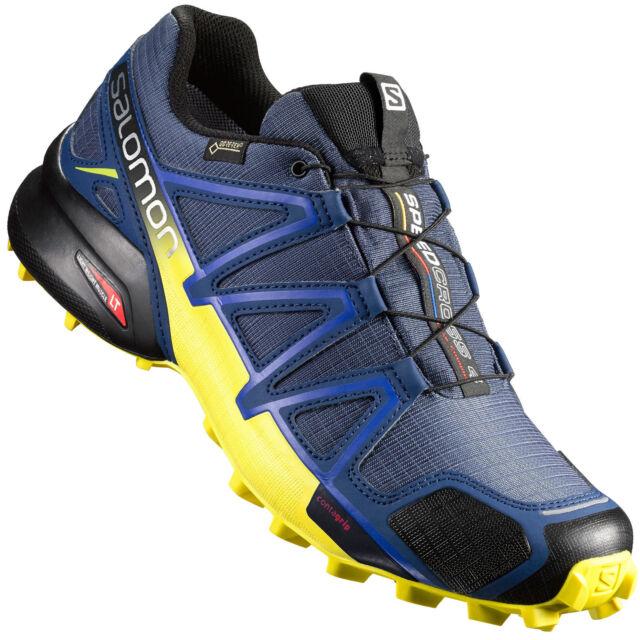 034fe01b41d779 Salomon Herren Laufschuh Trail Speedcross 4 GTX blau - 383118 40 ...