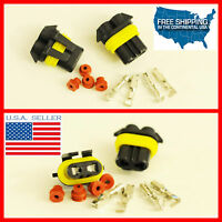 9005 Hb3 9005st H10 Female Connectors Hid Led Plug Waterproof Socket 9006su 9011