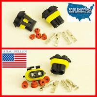 9005 Hb3 9005st H10 Female Connectors Hid Led Plug Waterproof Socket 9006su 9011