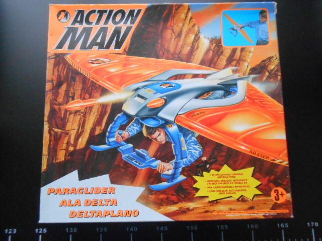 ACTIONMAN Action Man PARAGLIDER PARA GLIDER VEHICLE Hasbro
