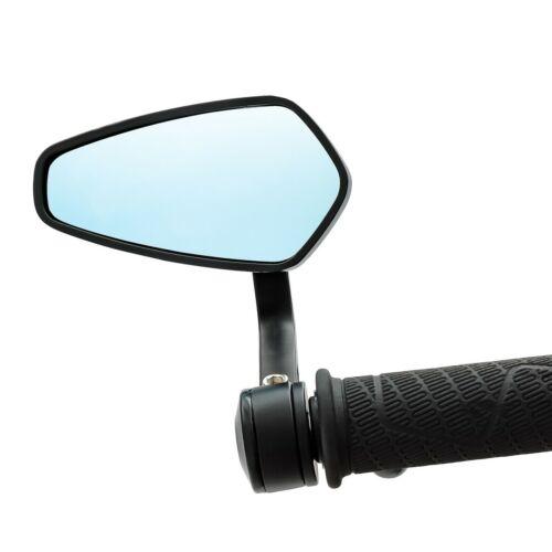Extrémité de guidon Miroir ls4 pour DUCATI pointés Street Classic Noir