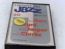 Giants of Jazz 20 - Getz, Byrd, Jaspar, Clarke - Cassette - SEALED