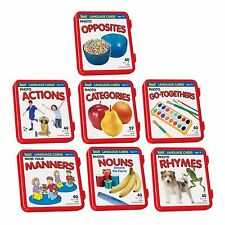 7 Complete Sets of Language Flash Cards Speech Therapy Autism ABA Special Needs
