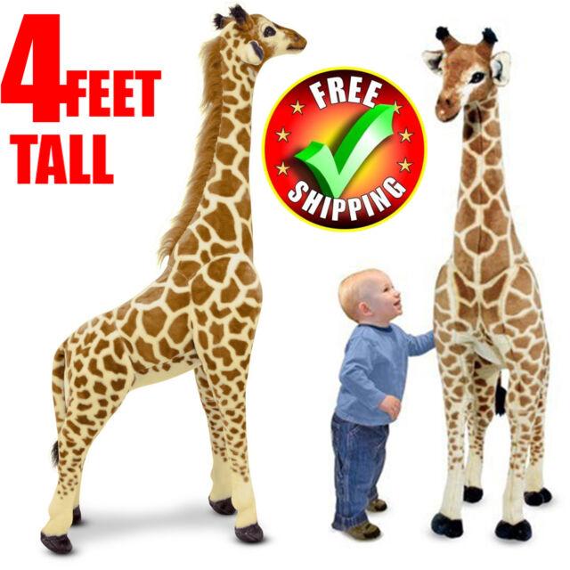 Big Plush Giraffe Stuffed Animals Toy 3FT Tall Giant Large Soft Doll kids Gifts