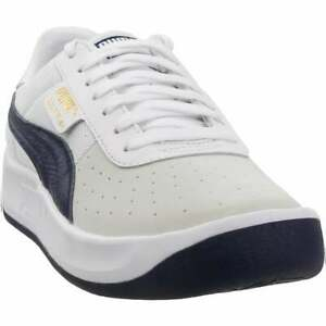 Puma-California-Casual-Lace-Up-Sneakers-Casual-White-Mens