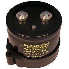 Mundorf MLytic ® HC 22000uF 80V 105°C Kondensator Elko High Current 854295